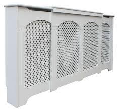 Radiator Cabinets Dublin Cambridge Adjustable Medium Large White Painted Radiator Cover