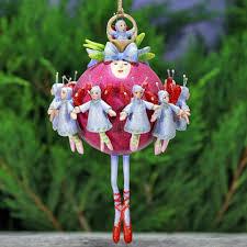 patience brewster eleven ornament