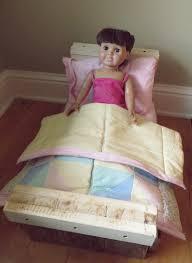namely original pallet wood doll bed