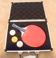 custom table tennis racket killerspin ping pong gift set case table tennis paddle 3 balls