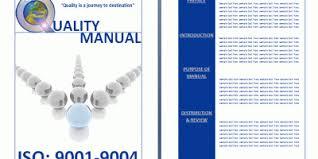 sample quality control manual free manual templates