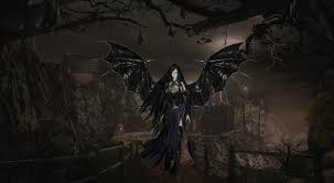 halloween vampire background gothic angels wallpapers group 66