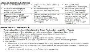 software engineer cv sample