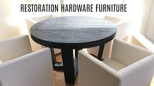 first impression restoration hardware dining room furniture