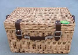 Picnic Basket Set For 4 4 Person Wicker Picnic Hamper Baskets Set Hd9915 Hd9915 Picnic