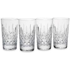 barware sets hamilton crystal 4 pc highball glass set glasses barware sets