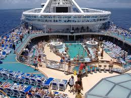 norwegian jewel pool deck 2014 cruise belize roatan cozumel