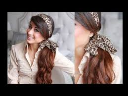 headband ponytail hairstyle