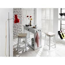table haute de cuisine avec tabouret meuble bar de cuisine 1 tiroir royan