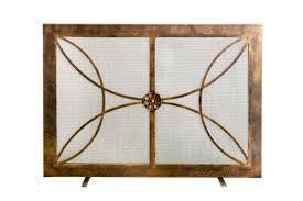 fireplace screens ornamental designs