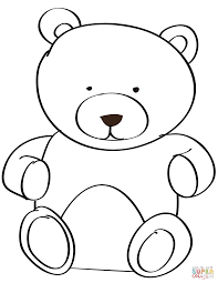 teddy bear coloring pages nywestierescue com
