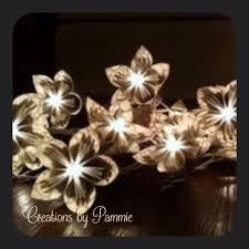handmade lighted paper floral garland for 30 listingdock