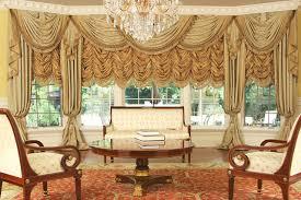 luxury drapery interior design custom and luxury drapery for large bay window traditional