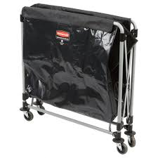 Laundry Hamper Replacement Bags by Rubbermaid Laundry Cart 8 Bushel Collapsible X Cart 1881750