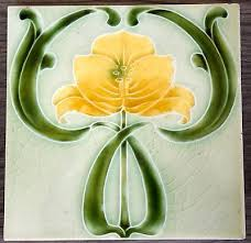 Art Deco Tile Designs 47 Best Art Nouveau Tile Images On Pinterest Art Nouveau Tiles