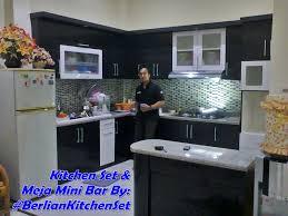 Kitchen Set Minimalis Putih Berlian Kitchen Set Minimalis Murah Dapur L