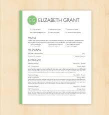 Template Resume Design Resume Template Cv Template The Elizabeth Grant Resume Design