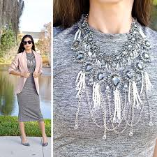 pearl crystal statement necklace images Zara pearl crystal statement necklace the classified chic jpg