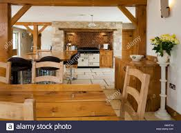 Barn Conversion Floor Plans A Luxury Upmarket Open Plan Barn Conversion Kitchen And Dining