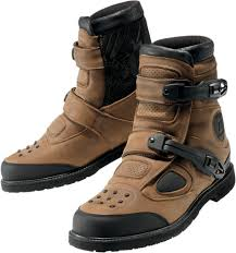 lightweight motorcycle boots ministry of bikes icon patrol waterproof motorcycle boot brown