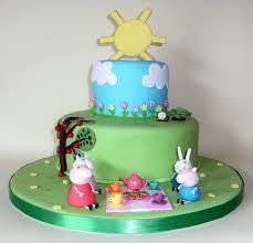 resultado de imagem para princess peppa pig cake template niver