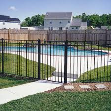 Backyard Pool Fence Ideas Aluminum Pool Fence Pool Fencing Ideas Pinterest Backyard