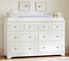 Dressers With Changing Table Fillmore Wide Dresser Topper Set Pottery Barn