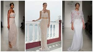 stylish wedding dresses 16 stylish wedding dresses with fringe benefits wedding