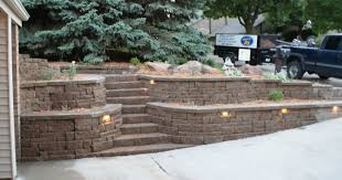 Retaining Wall Design Ideas Retaining Wall With Shrubs Retaining - Retaining wall designs ideas