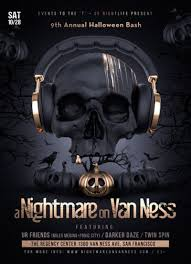 a nightmare on van ness halloween bash in san francisco at the
