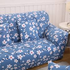 Cheap Loveseat Covers Online Get Cheap Sofa Slipcover Blue Aliexpress Com Alibaba Group