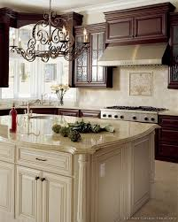 How To Distress Kitchen Cabinets by 35 Two Tone Kitchen Cabinets To Reinspire Your Favorite Spot In