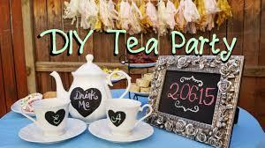 Music Party Theme Decorations Diy Tea Party Decor Youtube