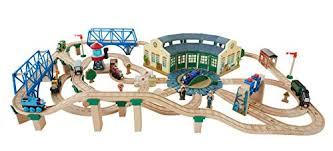 fisher price thomas the train table fisher price thomas the train wooden railway tidmouth sheds deluxe
