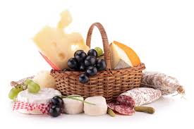 cheese basket supreme salami and cheese basket for delivery in ukraine gifts