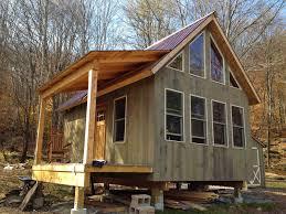 adam and karen u0027s tiny off grid house