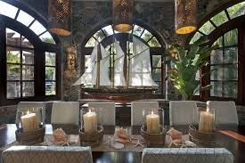 themed dining room island style dining room decorating ideas dining room tropical