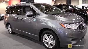 minivan nissan 2015 nissan quest platinum exterior and interior walkaround