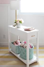 Build A Cheap End Table by Best 25 Narrow Nightstand Ideas On Pinterest Small Bedside
