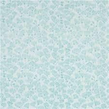 Light Cotton Fabric Light Turquoise U0027landscape U0027 Mallee Flower Cloud 9 Organic Cotton