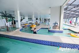 lazy river at the indoor pool at the caribbean resort and villas