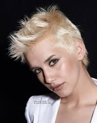 short hairstyles trendy ideas punk rock hairstyles for short hair