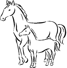 coloring sheets of a horse baby horse coloring pages getcoloringpages com