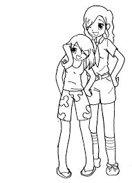 2 best friends coloring pages coloring pages ideas