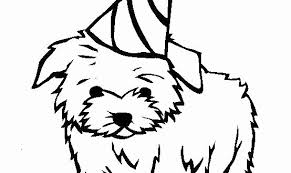 Awesome Puppy Coloring Page