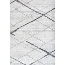 White And Gray Rugs Mercury Row Azha Broken Light Gray Area Rug U0026 Reviews Wayfair Supply
