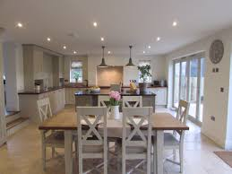 Kitchen Open To Dining Room by Best 25 Open Plan Kitchen Diner Ideas On Pinterest Diner