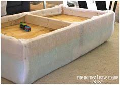 box assembly 1 how to make an upholstered storage ottoman