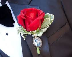 in loving memory charms boutonniere charm etsy