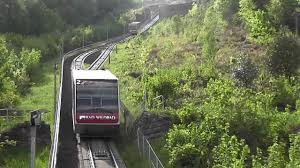Bad Wildbad Sommerbergbahn Standseilbahn Bad Wildbad 3 Youtube
